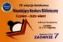 Nieustający Konkurs Biblioteczny CZYTAM – DUŻO WIEM! – Zadanie 7