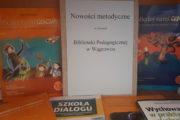 Ekspozycja nowości metodycznych Biblioteki Pedagogicznej w Wągrowcu