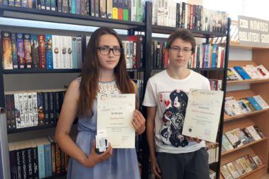 Laureaci Nieustającego Konkursu Bibliotecznego