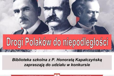 Drogi Polaków do niepodległości - plakat na stronę 1