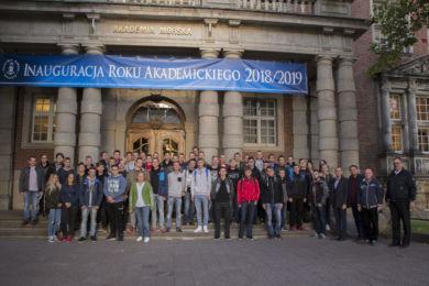Wizyta w Akademii Morskiej w Szczecinie