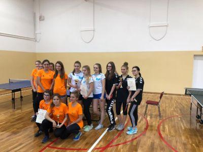 XX Licealiada – Tenis Stołowy Dziewcząt