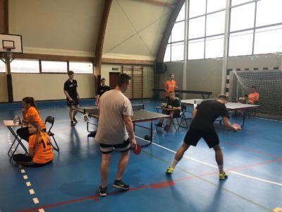 XX LICEALIADA – Drużynowy Tenis Stołowy Chłopców.