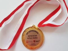 Zdjęcie medal Finał Piłka Nożna 2019 2