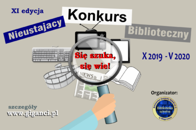 Zakończenie XI Edycji Nieustającego Konkursu Bibliotecznego.