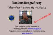 """""""SLEEVEFACE – ubierz się w książkę"""" – konkurs fotograficzny"""