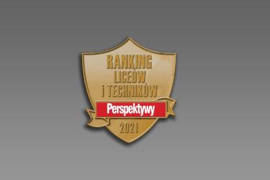 """Mamy Brązową Tarczę w rankingu """"Perspektyw"""""""