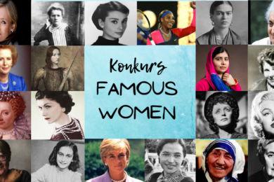 FAMOUS WOMEN– konkurs z języka angielskiego